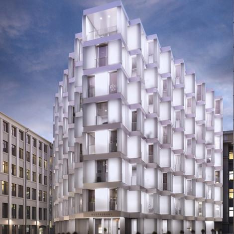 Hutton рассказали о своём новом проекте Lumin — клубном доме в 250 метрах от парка «Зарядье»