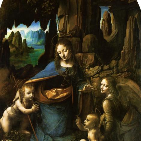 Под картиной Леонардо да Винчи нашли скрытые детали