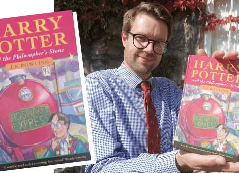 Мужчина случайно узнал, что владел редким изданием «Гарри Поттера»