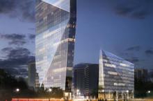 На Краснопресненской набережной Москвы построят башню-«кристалл»