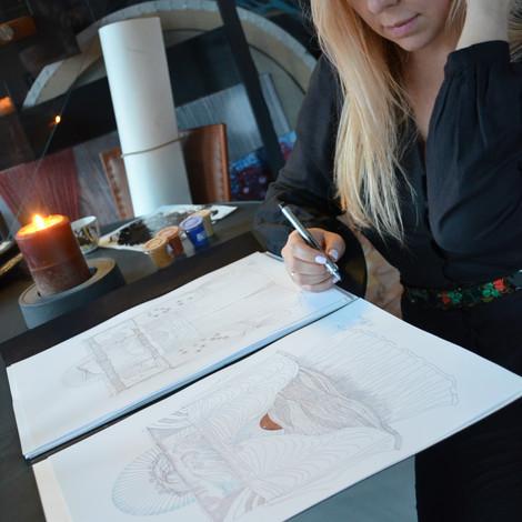 Чем интересна новая серия работ Юлии Якубович «Внутренняя жизнь кимоно»