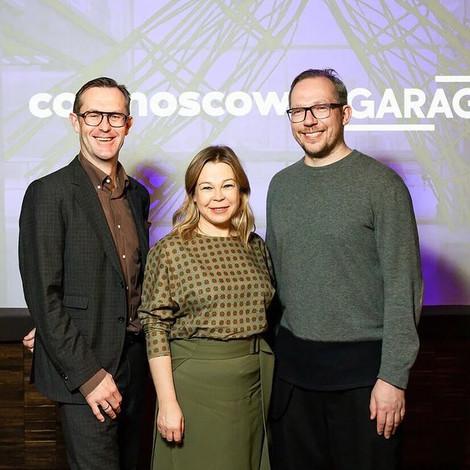 Музей современного искусства «Гараж» будет представлен на Cosmoscow 2020 как «Музей года»