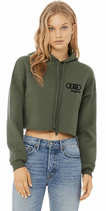 Hooded Cropped Top