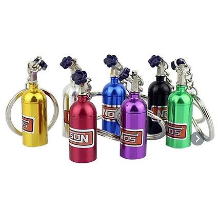 NOS Bottle Keychain