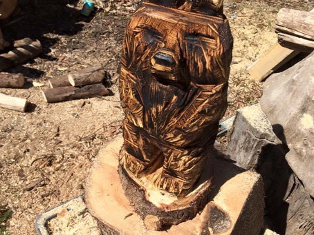 How I got into chainsaw Carving.