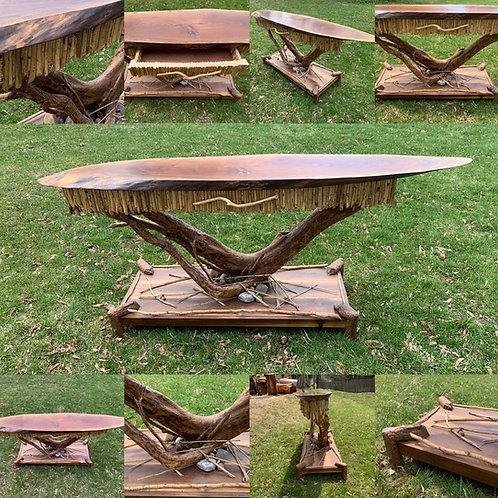 Adirondack sofa table