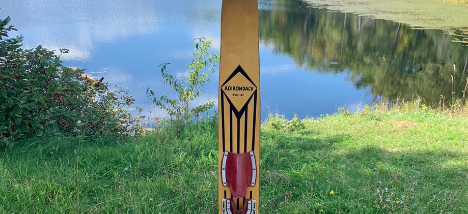 Short Adirondack water ski lamp