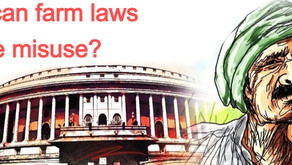 How can farm laws be misuse?