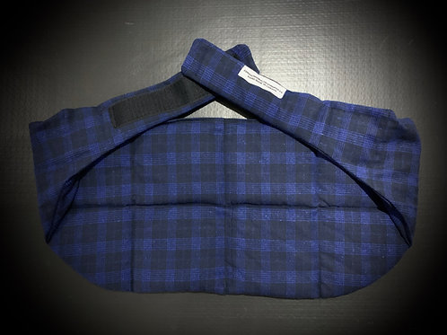 Kidney Belt Blue Plaid 8054