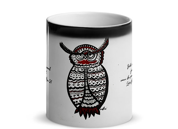 Birth Animal- Owl- Nov 23 - Dec 21 -Glossy Magic Mug- International ONLY