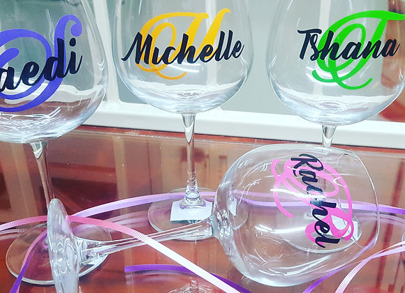 Jumbo Wine Glasses