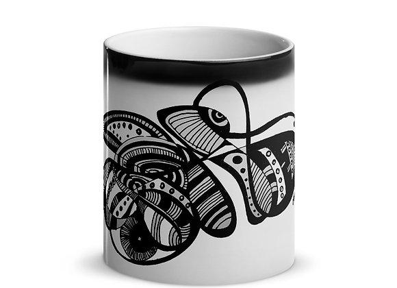 Looking In - Glossy Magic Mug- International ONLY