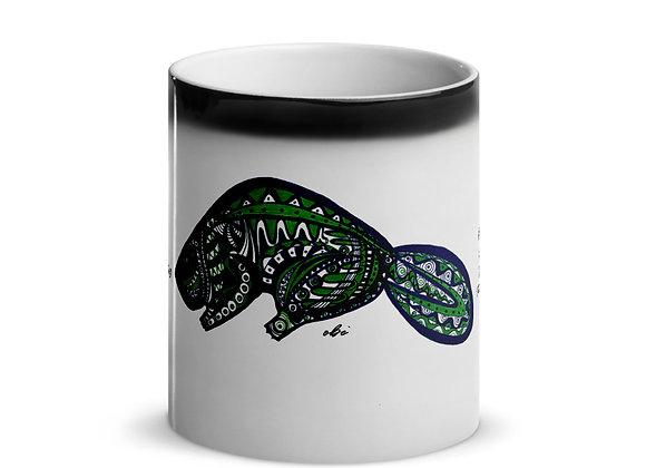 Birth Animal Beaver- April 20 - May 20 - Glossy Magic Mug - International ONLY