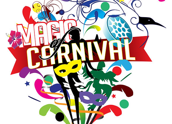 Magia de la camiseta del carnaval