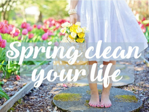Spring Clean Your Life to Make Room for What You Want!