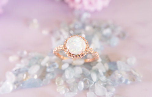 The One Opal Rings