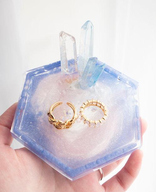 The Lilac Galaxy Jewelry Tray