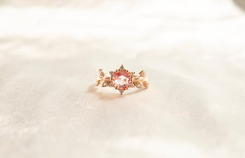 The Pink Vine Ring