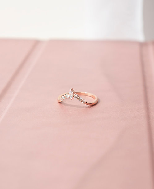 The Princess Curve Rings