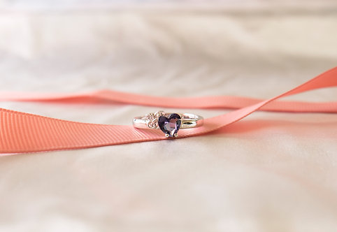 The Simple Heart Ring