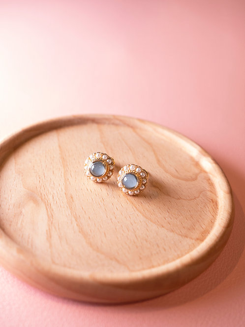 The Blue Daze Earrings