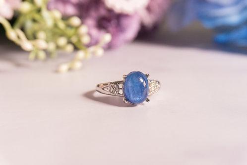 The Kyanite Crystal Rings