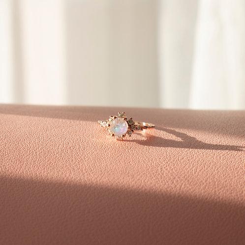 The Arura Moonstone Ring