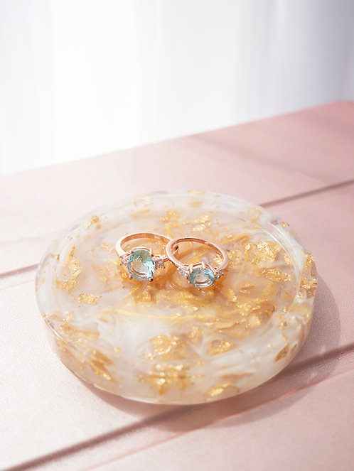 The Golden Dream Jewelry Dish