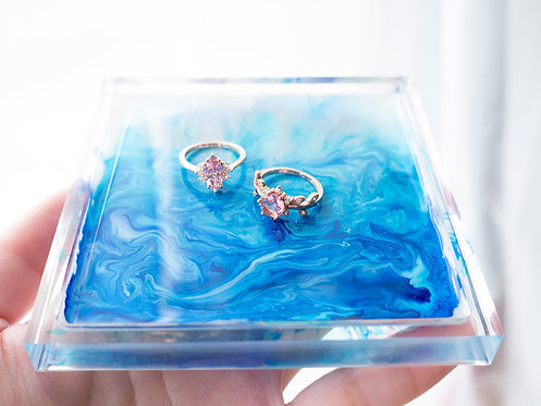 The Atlantic Ocean Jewelry Tray