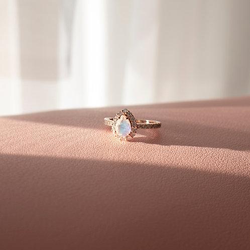 The Eva Moonstone Ring
