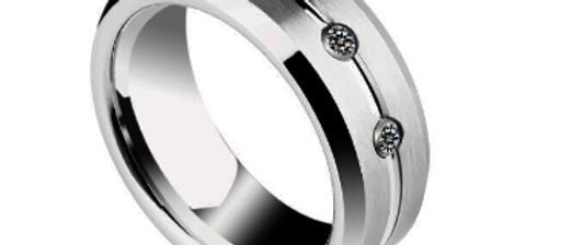 Ring aus Wolfram