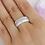Thumbnail: Ring aus Keramik