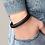 Thumbnail: Armband aus Leder