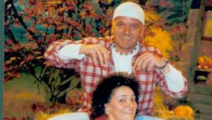 Raffaella mit DJ Ötzi im Studio des SWR