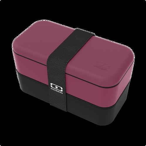 MB Original Bento-Box, Special Edition, Beere & Schwarz