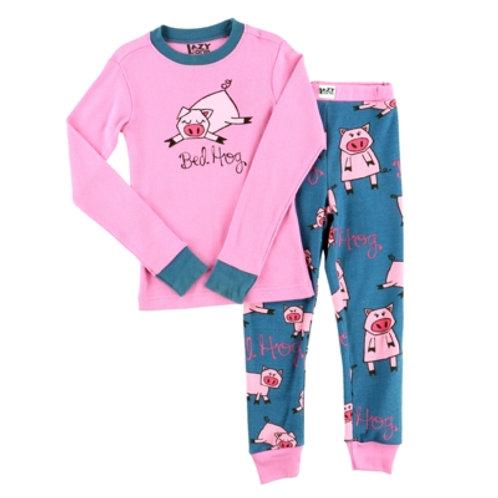 Bed Hog Langarm Pyjama Kind