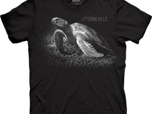 Schildkröte - Littering Kills