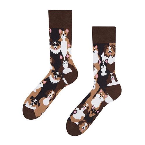 Hunde Gute Laune Socken, Erwachsene