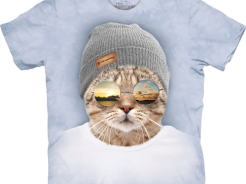 Coole Hipster-Katze
