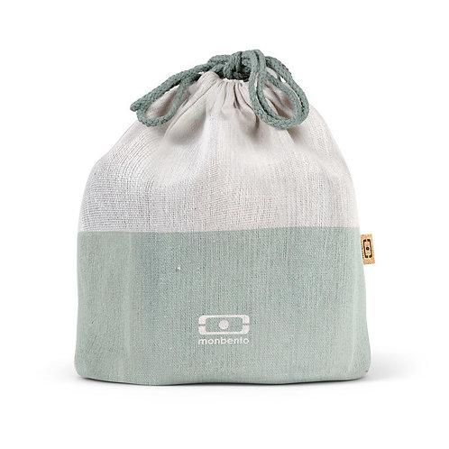 Pochette Tasche L, Natur-Grün