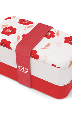 MB Original Bento-Box, Limited Graphic Edition, Mohnblume