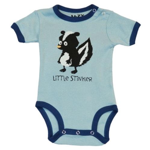 Little Stinker Body Baby, blau