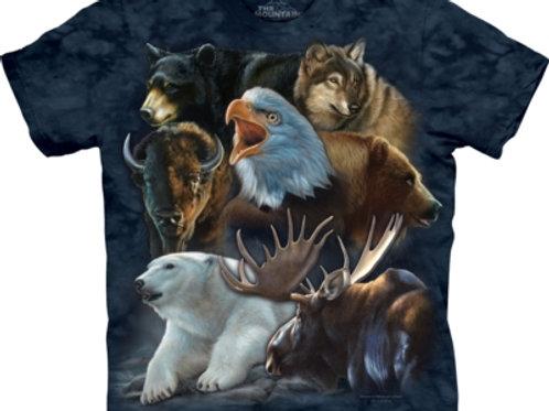 Alaska Tiere Collage