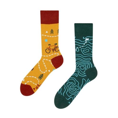 Velo-Tour Gute Laune Socken, Erwachsene