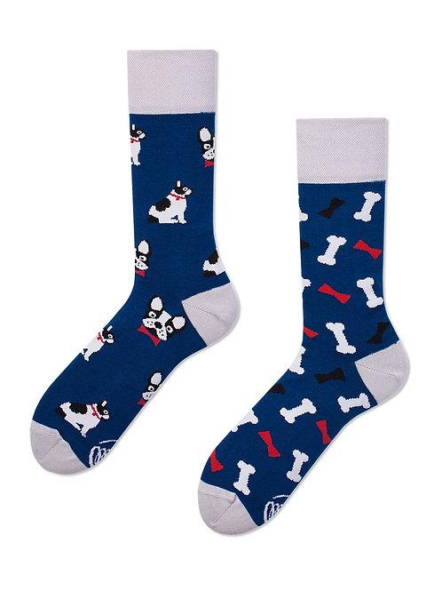 Hund und Knochen Gute Laune Socken, Erwachsene