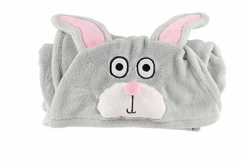 Kaninchen Fleece Decke
