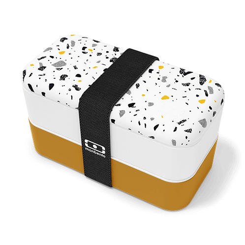 MB Original Bento-Box, Graphic Edition, Terrazzo
