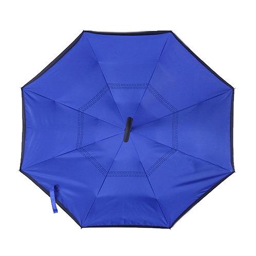 Invertierter Regenschirm, königsblau
