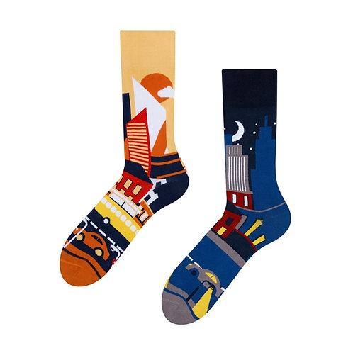 Grossstadt Gute Laune Socken, Erwachsene