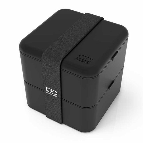 MB Square Bento-Box, Schwarz